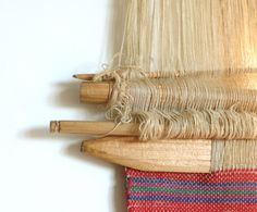 Mobile hand loom from Nagaland,  near Bhutan and the Chinese border