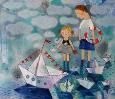 Swimming, sailing, boats ...