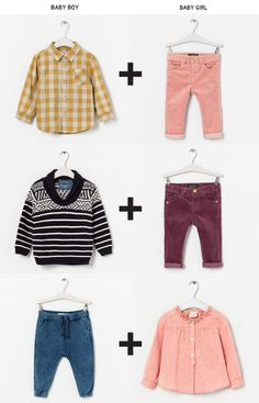 mixing baby boy and baby girl clothes: possible money saver: especially on neutral things like jeans/pants, and some sweaters