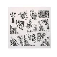 Retro Sculpture Clear Stamp DIY Silicone Seals Scrapbooking/Card Making/Photo Album Decoration Supplies 15cm X 15 cm  #Affiliate