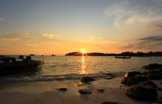 SUNSET AT KOH LIPE,SATUN,THAILAND
