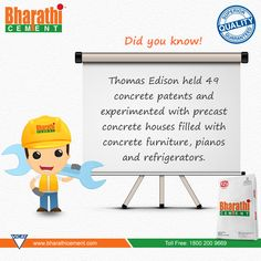 #DidYouKnow An Intresting #Fact about #Concrete.