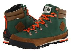 The North Face Back-To-Berkeley Boot Dark Sage Green/Spicy Orange - Zappos.com Free Shipping BOTH Ways