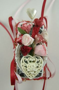Artfully Musing: Marie Antoinette Valentine Domino Book