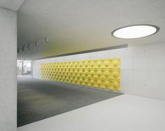 a real pop of color  Forum at the Eckenberg Academy / Ecker Architekten