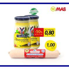¡No te pierdas esta combinación! Huevas de merluza + mayonesa Ybarra, ¡y empieza septiembre con buen pie! #Oferta #ProductoAndaluz Grupo Ybarra