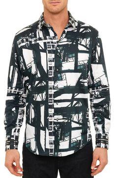 Robert Graham Limited Edition BLADE RUNNER Shirt, Style RF141603, Fall 2014