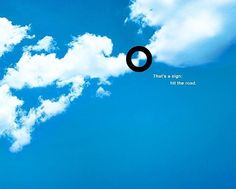 Once Upon Advertising • *Sign* #BMW #vehicle #road #sign #clouds #print...