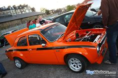 Stunning Ford Escort Mexico Mk1 at Whitby Cruise