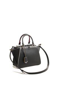f6cc1432e865 fendi mini 3jours black with multicolor details bag Fendi