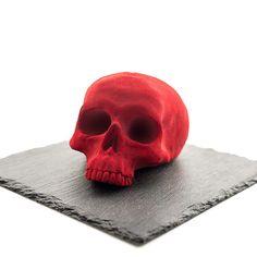 Red Chocolate Skull   FIKA Chocolate Factory NYC – FIKA