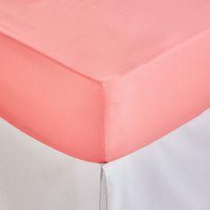 Single Coloured Printed Satin Bottom Sheet - BOTTOM SHEETS - BEDROOM | Zara Home United Kingdom
