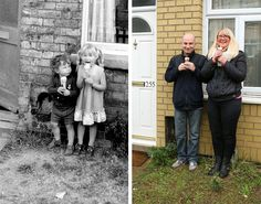 Man Tracks Down People He Photographed in the Street 40 Years Ago to Recreate Their Pictures - My Modern Met