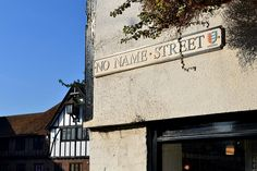 No Name Street in Sandwich, Kent, England. Photo by Richard Matthews | Richard_of_England | Creative Commons Licence: [Please keep artwork credit and original link if reusing or repinning. Thanks!]