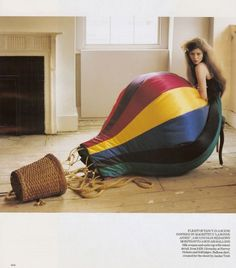 영국 보그 2007년 2월호 CURIOUSER AND CURIOUSER Photographed by : Tim Walker ...