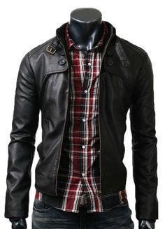 Black Button Pocket Jacket by Melisa Dell, via Behance