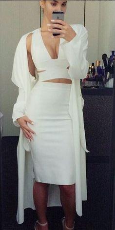@__tainara__ looking wonderful in white in her IKRUSH Lorena waterfall cardigan. Get yours here. >>> http://www.ikrush.com/product/Lorena-Waterfall-Cardigan-9030-0-0-0.html
