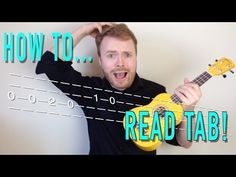 How to Read Tab for ukulele and guitar! - YouTube