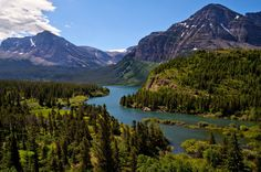 U.S. Department of the Interior May 31 · 2015    Many Glacier is considered the heart of Glacier National Park in Montana. Massive mountains, active glaciers, sparkling lakes, hiking trails and abundant wildlife make this a favorite of visitors and locals alike. View from one of the overlooks in Many Glacier. Photo by Jacob Barber (www.sharetheexperience.org). — at Glacier National Park.