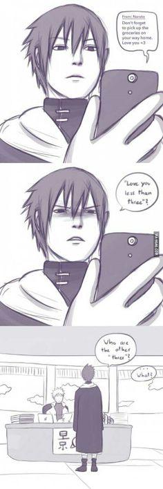 Naruto, Seventh Hokage, Sasuke, text, comic, funny, less than 3, yaoi, SasuNaru; Naruto