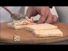 Sanduíche de Praia de salpicão:Receita Minuto: