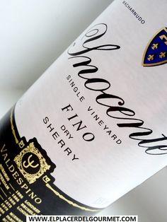 FINO INOCENTE OFERTA SHERRY WEEK 6.3€ http://www.elplacerdelgourmet.com/es/finosmanzanillas/815-valdespino-jerez-vino-fino-inocente-75-cl.html