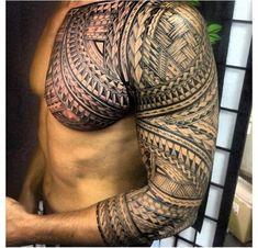 Maori #polynesiantattoos