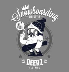 Deerz clothing by New Fren, via Behance