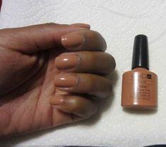 Ideas nails gel polish ideas cnd shellac for 2019 Shellac Nail Art, Shellac Colors, Gel Polish Colors, Gel Nail Polish, Nail Colors, Acrylic Nails, Nails Only, Oval Nails, Black Nails