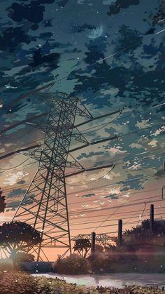 Wallpaper Animes, Anime Scenery Wallpaper, Cute Wallpaper Backgrounds, Nature Wallpaper, Aesthetic Backgrounds, Aesthetic Wallpapers, Fantasy Landscape, Landscape Art, Graphisches Design