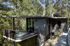 The site originally formed part of photographer David Moore's property on the Bouddi Peninsula, where he built his seminal Lobster Beach house designed by Ian McKay in the early 1970's. It was subdivided in the 1990's but remained a bush block and has never been built on until the current house was completed in 2020. The brief was for a low-maintenance house within the trees. Designed and constructed over a seven-year period, the site presented significant challenges which made the approval…