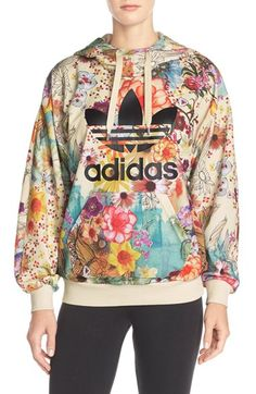 adidas Originals 'Farm Confete' French Terry Hoodie available at #Nordstrom