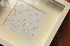 Floating Leaves Drawing