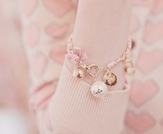 ...Chanel Pearls and bows #beautifulbracelets
