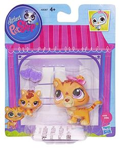 Littlest Pet Shop Figures Orange Tiger & Baby Tiger Littl… Lps Littlest Pet Shop, Little Pet Shop Toys, Little Pets, Toys For Girls, Kids Toys, Corgi Dachshund, Lps Sets, Barbie Party, Kawaii