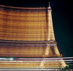 Thrilling long exposure snap of the Eiffel Tower    Eiffel Tower  Paris    Hasselblad 500CM   Carl Zeiss 80MM T* Planar Lens
