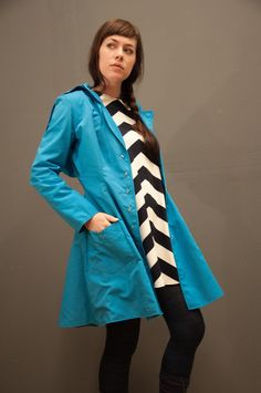 Oceanside Raincoat- Waterproof Raincoat available in 15 different colors on Etsy, $249.00