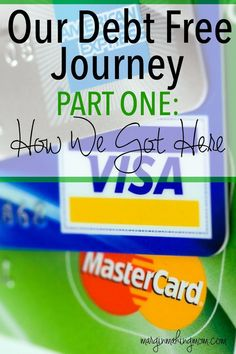 Finding yourself in debt is very common for the average American. Our debt free journey tells how we got into debt, but how we resolved not to stay there.  We decided to get out of debt! Become Debt Free | Debt Free Journey | Debt Free Motivation