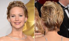 5 penteados de Jennifer Lawrence para variar o cabelo curto - Penteado - Cabelos - MdeMulher - Editora Abril