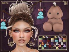 Kami Zizi Affiche 2 @ Fetish Fair 2018 2nd Edition | Flickr Los Sims 4 Mods, The Sims, Imvu, Plushies, Kawaii, Kleding, Stuffed Animals, Softies
