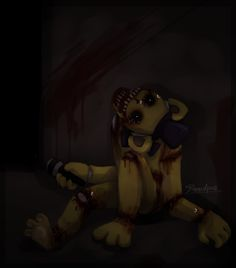 Golden Freddy by Bloodpus.deviantart.com on @deviantART