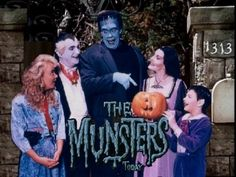 Everyone loved Fred Munster and Lily. | The Munsters TV show photo