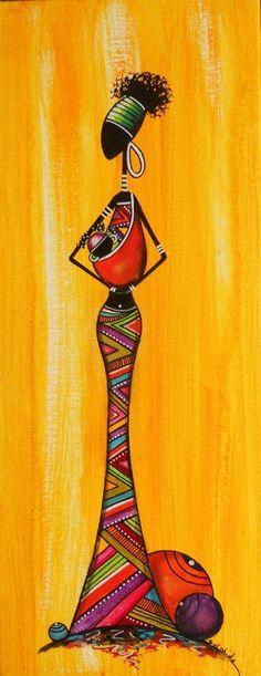 Mooi stuk kunst uit Zuid-Afrika