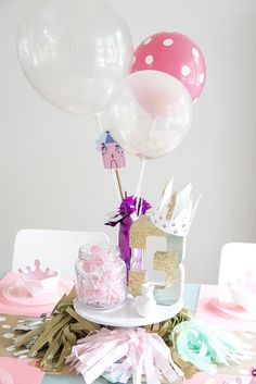 Adorable Princess party for a 3 year old