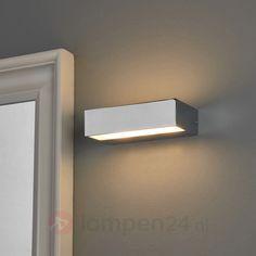 Wandlamp Lumina Curve Wit 6W LED 2700K | Lampen | Pinterest | Patios