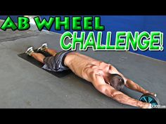 Ab Wheel Rollout Exercises, Workouts for Men & Women - YouTube