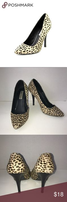 Steve Madden Madee calf hair pumps Steve Madden Madee calf hair pumps/ A bit of wear and tear on the side and back on shoes( can see in pictures) but in good condition/ size 8.5 Steve Madden Shoes Heels
