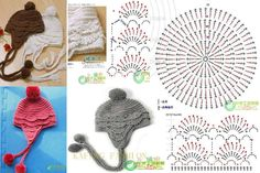 Pattern for baby hat | Crochetz.com