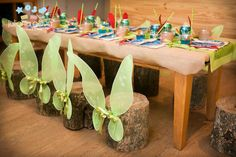 tinkerbell seating idea