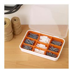 FIXA 260-piece screw and plug set  - IKEA